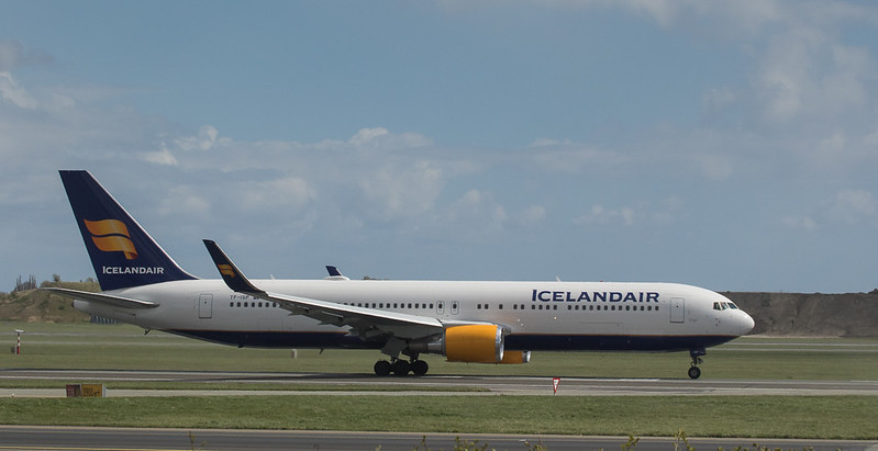 Iceland Air Boeing 767-319ER TF-ISP at Kopenhagen/DK.