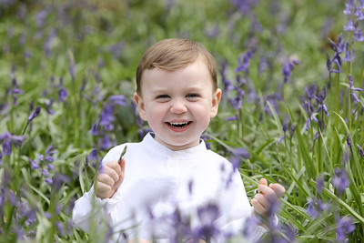 Suzy's Family Bluebell session