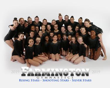 Shooting, Rising, Silver Stars