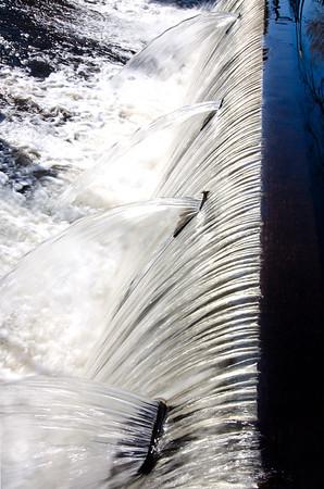 Amesbury Waterfall