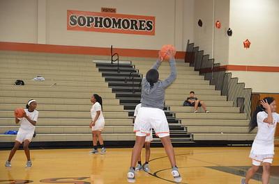 WMHS GIRLS Basketball Senior Night 2017-18
