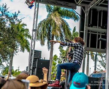 2016 The Revivalists Sunshine Music Fest Boca Raton 1/17/16