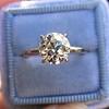 1.58ct Old European Cut Diamond Solitaire, EGL K VS2 8