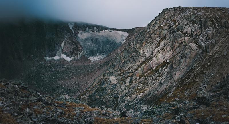 Tyndall Glacier - September