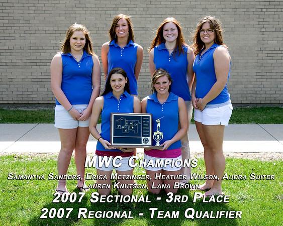 SNHS Girls Golf Conference Trophy 2007