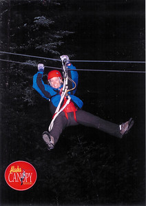 Alaska 2009 - Zip Line in Juneau (Photos & Movie)