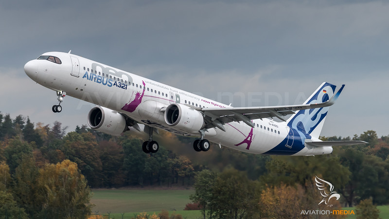 Airbus Industries / Airbus A321-251NX / D-AVZO