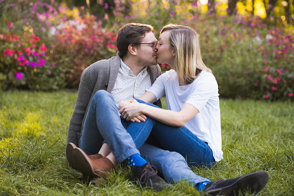 Anna & Wade's Engagement Session :: WRAL Gardens :: AO&JO Photography & Videography (Raleigh Wedding Photographer)