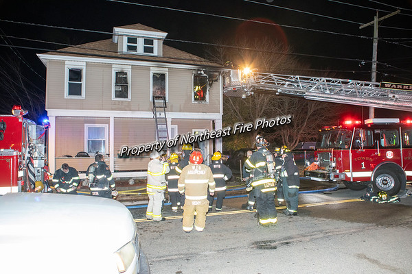 Warren- 2nd Alarm, Market Street- November 21st, 2020