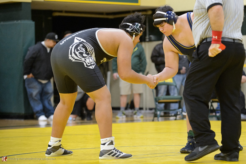 285 Tigard vs Canby Bout 183 Normani v Martin