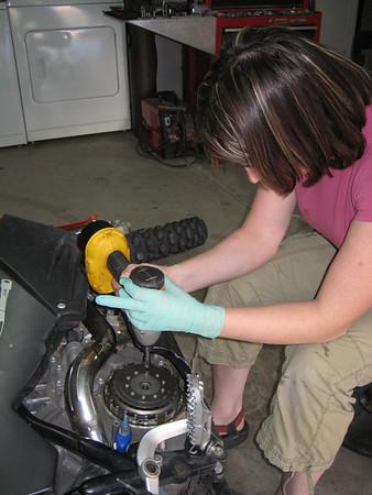 Megan's 990 Rekluse Install - 16JAN2008