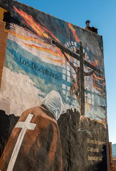 Mural Disciplinantes, San Vicente de la Sonsierra