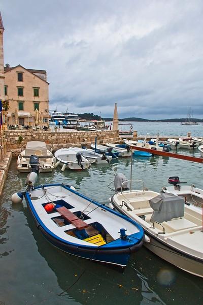 The old harbour, Hvar, Croatia
