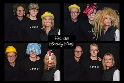 Oli's 18th birthday party