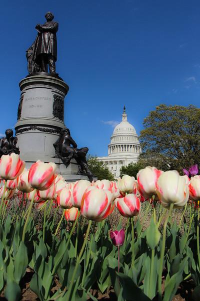 Garfield Statue...US Capitol