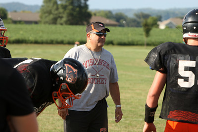 West Salem practice FB12