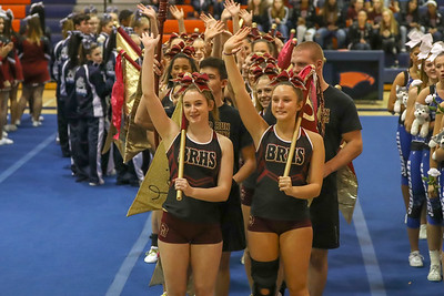 Cheer: Broad Run @ Districts 10.17.2018 (By Jeff Scudder)