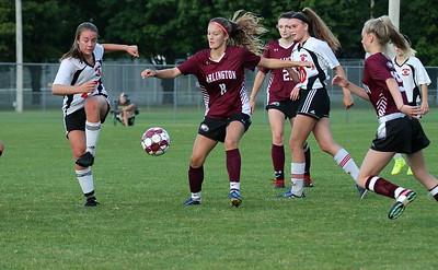AMHS Varsity Girls Soccer vs TV II photos by Gary Baker