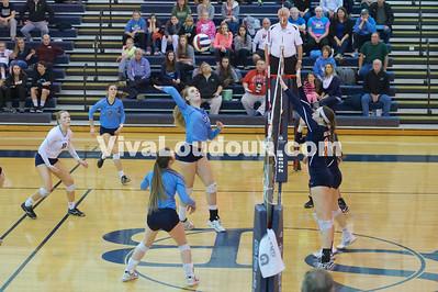Volleyball 5A Regional Championship Briar Woods @ Stone Bridge 11.15.14 (by Jeff Scudder)