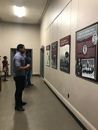 Becoming a Benedict's Man - Exhibit at the Newark Public Library