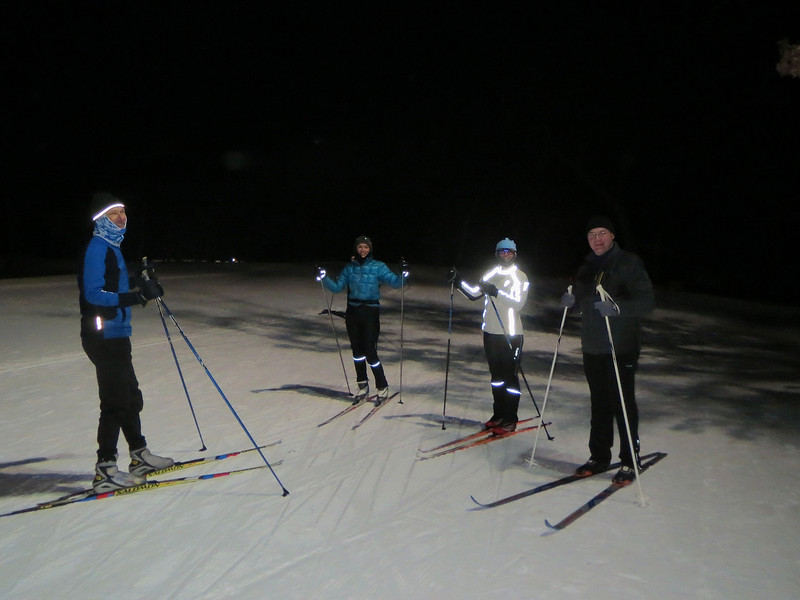Skiing in Theodore Wirth Park Minneapolis MN