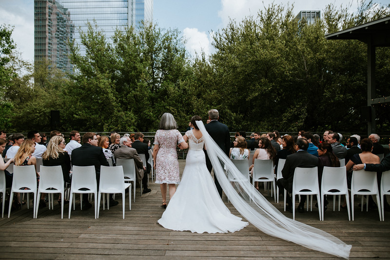 Urban Treehouse Wedding at The Grove in Discovery Green, Houston  - Second Photographer for Ron Dillon