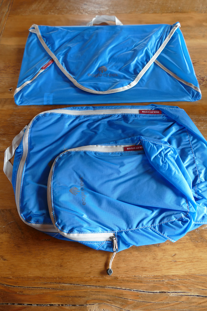 The Eagle Creek Pack-it Starter Set will keep you organized on a boomer trip. #packing #travel #boomertravel