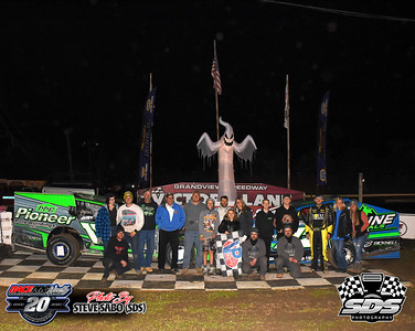 Thunder On The Hill Trick Or Treat Triple 20's - Grandview Speedway - 10/17/20 - Steve Sabo (SDS)
