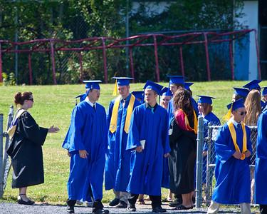 Zachary Orndorff Central High School Graduation 2012