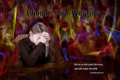 2013 Porta Fidei Spiritual Warfare Posters
