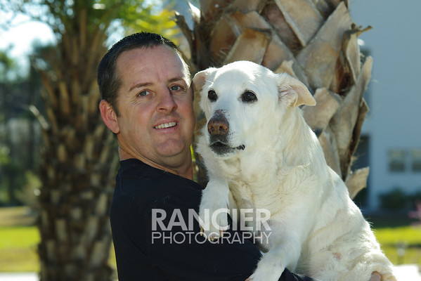 Steve Brunty and Bear