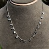 2.88ctw 18kt White Gold Scatter Necklace 11