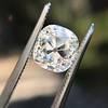 2.35ct Old Mine Cushion Cut, GIA J VS1 17