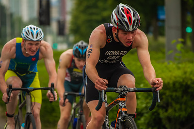 Cardiff Triathlon - Elite Men Bike