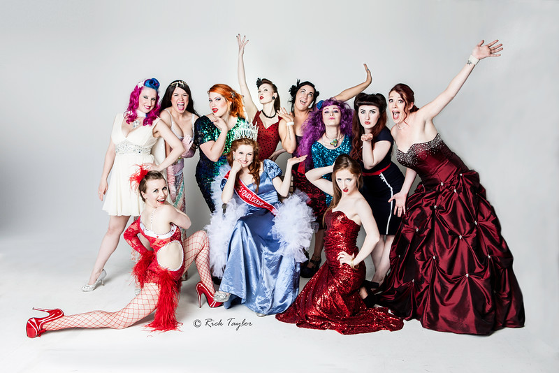 Miss Burlesque Ireland 2015 Promo Shoot