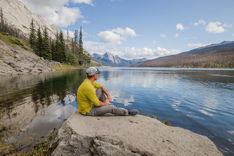 Medicine Lake - Jasper, Canada