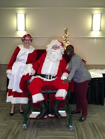 2018 - SSM Health DePaul Santa Party