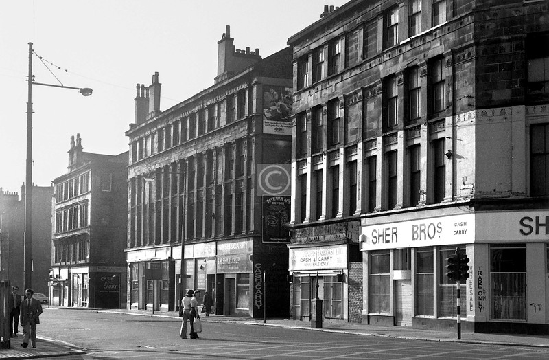 Norfolk St, north side west of the Cross.    August 1973