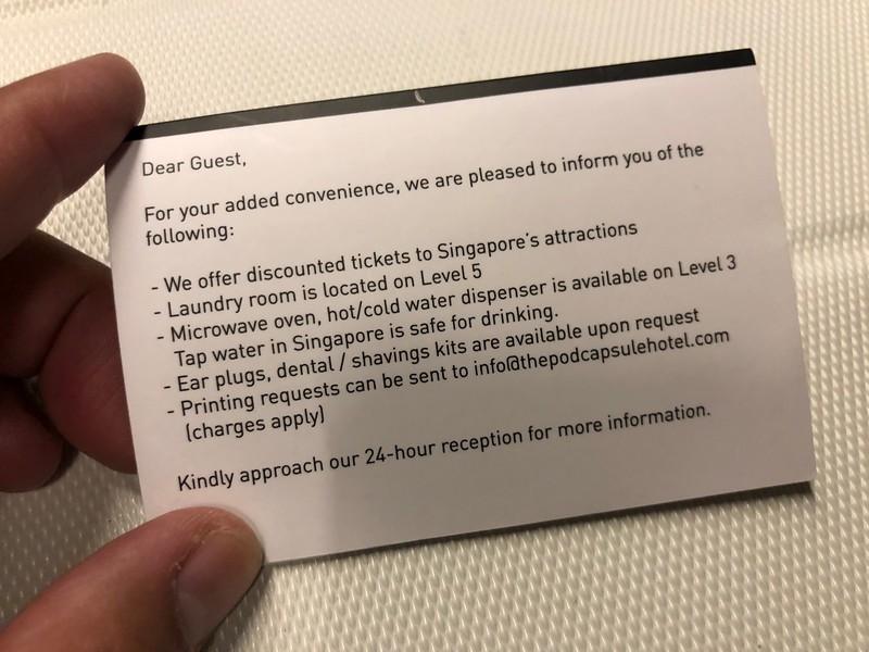 The Pod Singapore Capsules Hotel
