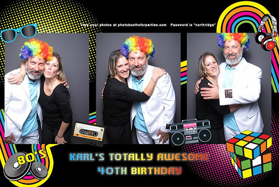 Karl's Totally Awesome 40th