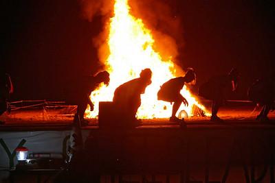 Eagle Bonfire, 2006