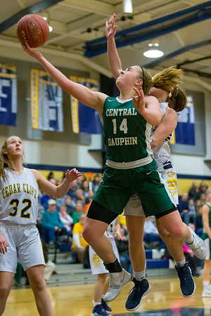 2019-02-28 | Girls | Central Dauphin @ Cedar Cliff (District 3 Playoffs)