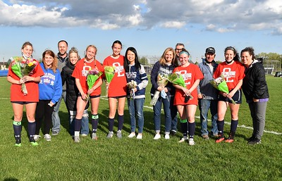 OE Girls Varsity Soccer Vs Romeoville (Senior night 2021)