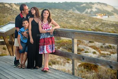 Inês e família