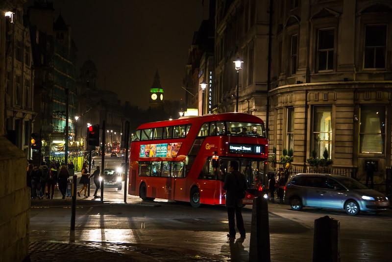 London from Trafalgar Square