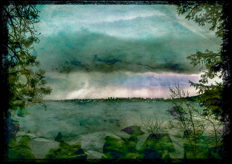 Thunderstorm, Liberty Lake, Washington