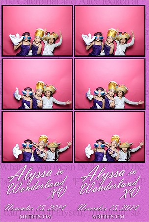 Alyssa's XV   Nov. 15th 2014