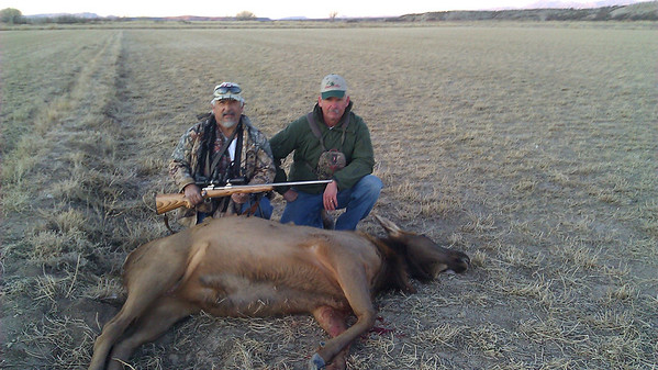 Johnnie Elk Hunt Bosque 2013