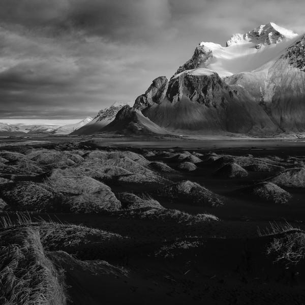 Stokksnes (b/w) - Iceland Tour 2018