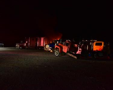 Truck fire in Pardeesville. 8-18-18